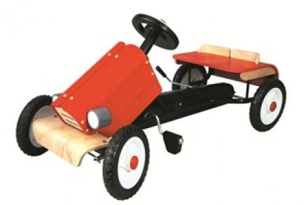 Pedallı Yarış Arabası (Racing Car)