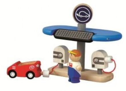 Ekolojik Yakıt İstasyonu (Eco Charging Station)