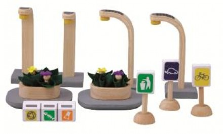 Ekolojik Şehir Aksesuarları (Eco Street Accessories)