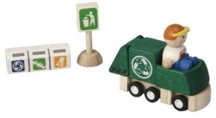 Geri Dönüşüm Kamyonu Seti (Recycling Truck Set)