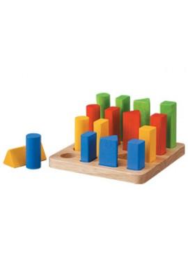 Geometrik Çubuk Tahtası (Geometric Peg Board)