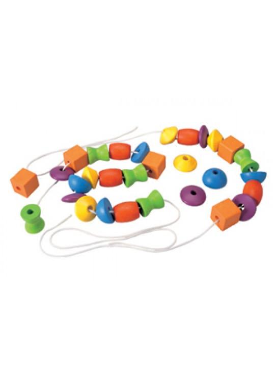 Boncuk Bağlama (Lacing Beads)
