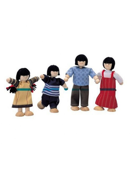 Asyalı Aile (Doll Family)